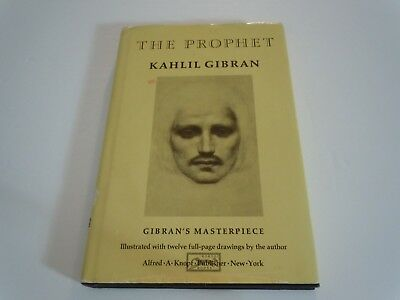 The Prophet By Kahlil Gibran 1923 Hardcover 1099
