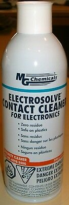 2 - 12 oz. Spray Cans of ELECTROSOLVE CONTACT CLEANER (MG Chemicals 409B-340G)