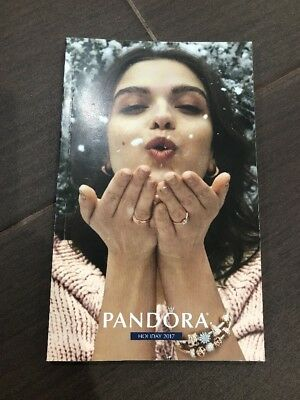 New Pandora 2017 Holiday Charms & Bracelets & Jewelry Collection Booklet Catalog