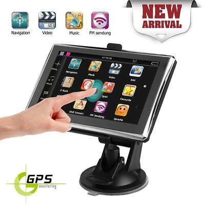 8GB 5in Touch Screen Car GPS Navigator FM Navigation SAT NAV with US Free Map EU