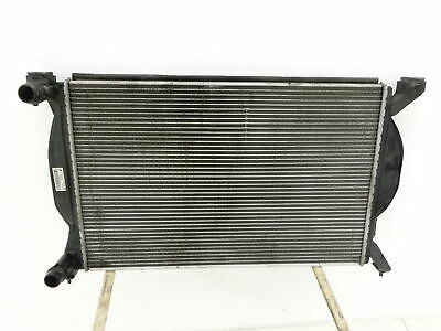 Cooler Radiator with Integr. Oil Cooler for Audi A4 B6 8E 01-04 Tdi 1,9 74KW