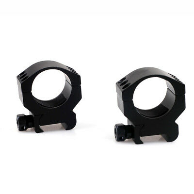 1 Pair 30mm Low Profile 6 Bolt Scope Mount Ring for 20mm Weaver Picatinny Rail