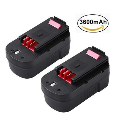 3600mAh Extended Capacity Battery for Black and Decker 18V Relacement Battery