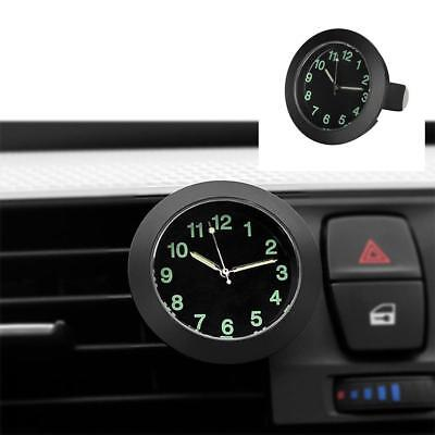 Clock Car Quartz Auto Watch Interior Luminous Decoration Mini Digital Air Vent-1