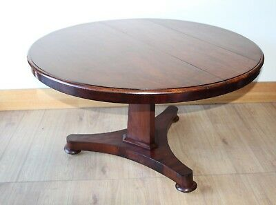 Antique library Table Circa 1850s
