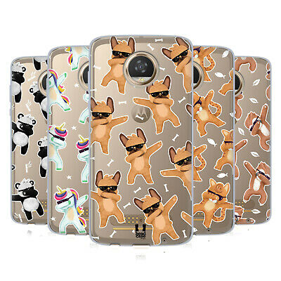 Head Case Designs Dabbing Animals Soft Gel Case For Motorola Phones