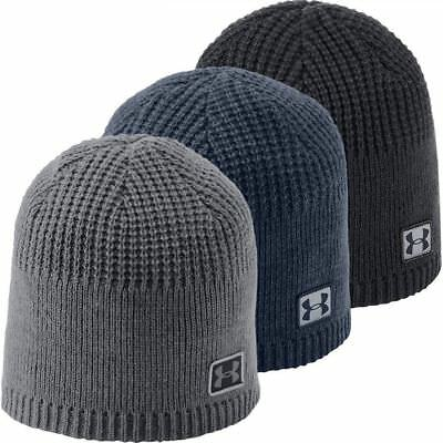 Under Armour 2019 UA Knit Cuff Beanie Hommes Sports d'hiver Golf Chapeau