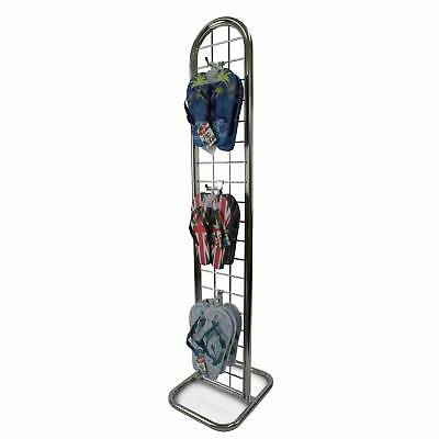 Slimline Gridwall Double Sided Freestanding Tower Retail Display (E4C)