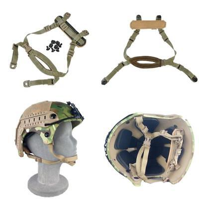 Fma 4 Points Tactical Helmet Chin Strap With Bolts And Screws For Mich Ach Helme