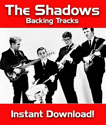 156 Tracks Of The Shadows & Hank Marvin Mp3 Download Guitar Backing Tracks