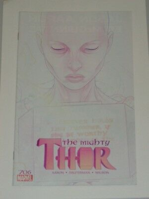 Thor Mighty #706 Marvel Comics June 2018 Nm (9.4)