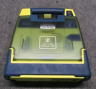 Cardiac Science PowerHeart AED Trainer Model #180-4021-001 *Tested/Working*