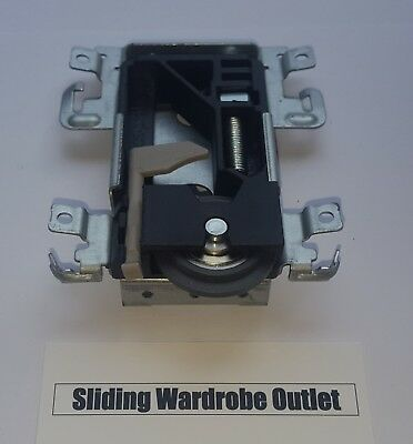 1 X Spacepro/Stanley 17-4264Y-000 sliding wardrobe door part Wheels/Runner/Guide