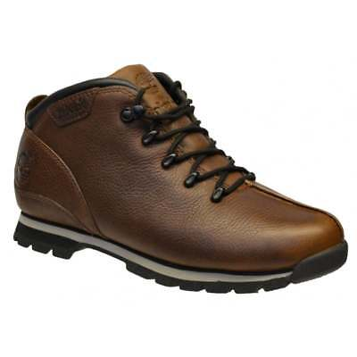 Timberland Splitrock Hiker Textured Leather Dark Brown (Z12) A18CO Mens Boots