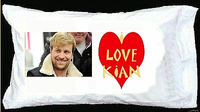 I LOVE KIAN EGAN PILLOWCASE Westlife