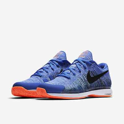 low priced f9362 6d7af NEW Nike Zoom Vapor 9.5 Flyknit HC QS 885725-400 size 10 RF Federer French