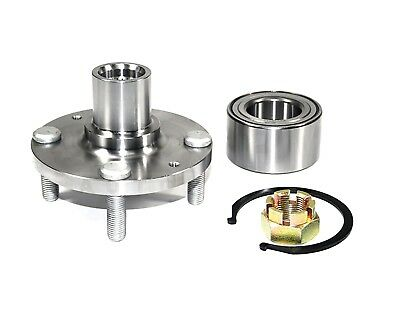 KIA RIO 06-11 1 Front Wheel Hub /& Wheel Bearing Set For HYUNDAI ACCENT 00-11