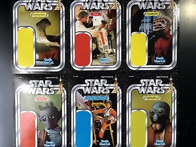 SDCC 2018 EXCLUSIVE Star Wars Gentle Giant Kenner Style Large Promo Cards!
