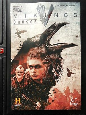 SDCC 2018 EXCLUSIVE VIKINGS Causor Promo Comic Book History Channel