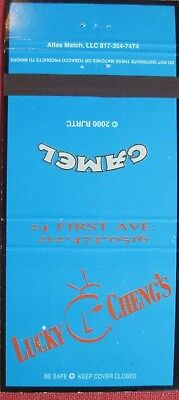 Camel Nightlife > 2000 #2568 Lucky Cheng's New York City Matchcover