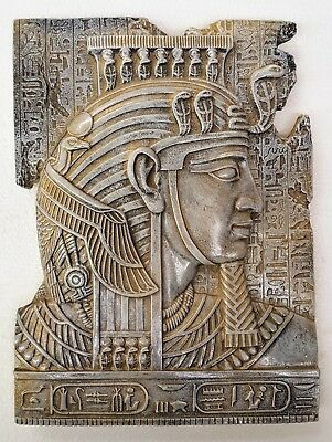 Ancient Egyptian Fragment of King Tut wall decor antique reproduction