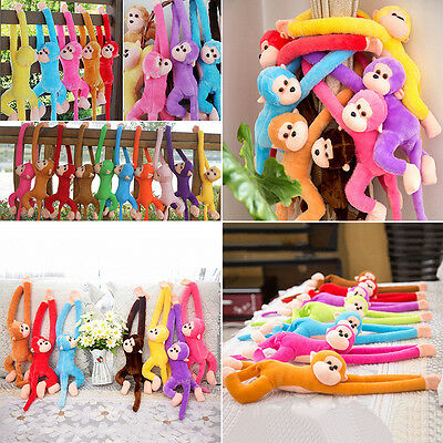 Fad Long Arm Hanging Monkey Plush Baby Toys Stuffed Animals Soft Doll child TOYS