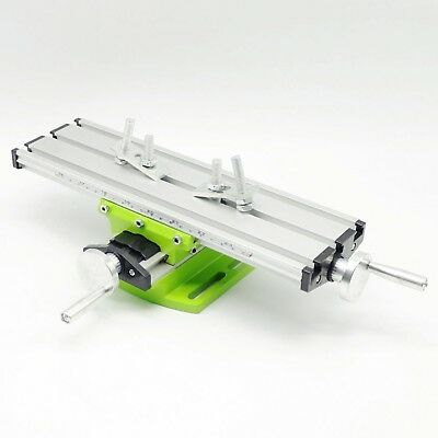 Mini Multifunctional Cross Working Table For Drilling Milling Machine Bench Vise