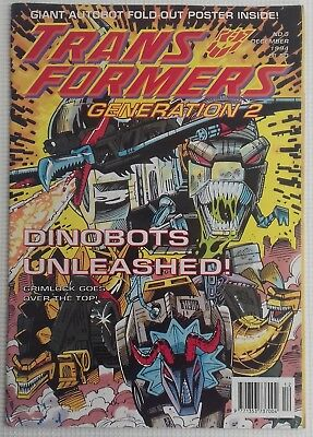 Transformers Generation 2 UK Comic Issue 3