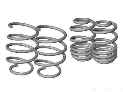 Lowtec Performance Springs Audi A4 B5 Saloon 2WD Axle Load to 1140kg 55/1 3/16in