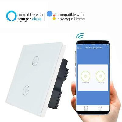 KNACLEAN SMART WIFI Touch Switch No Hub Required Via APP eWeLink Wireless 2  Gang