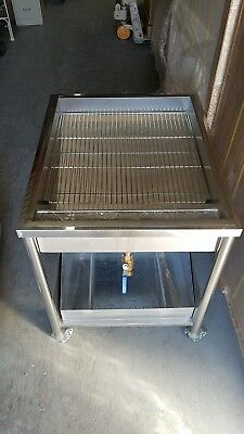 Donut Glazer glazing table for belshaw fryer 24x24 size SCREEN and COVER INCLUDE
