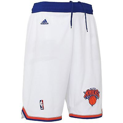 Adidas New York Knicks TAILLE S Intérieur Swingman Shorts Blancs Basketball NBA