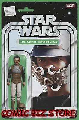 Star Wars #52 (2018) 1St Printing Christopher Action Figure Variant Cover Marvel