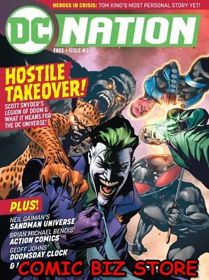 Dc Nation #3 (2018) 1St Printing Dc Universe Sandman Universe And More!