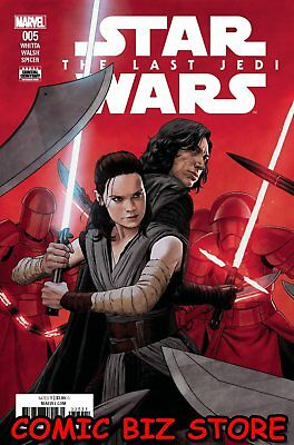 Star Wars Last Jedi Adaptation #5 (Of 6) (2018) 1St Printing Main Cover Marvel