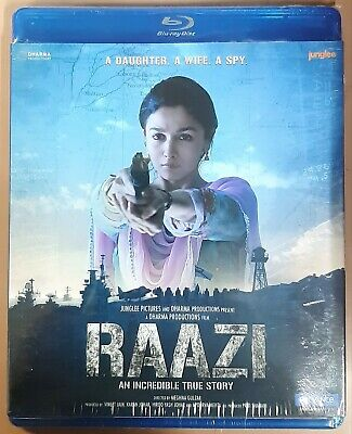 Raazi Blu-Ray - Alia Bhatt - 2018 Bollywood Movie Special Edition Bluray