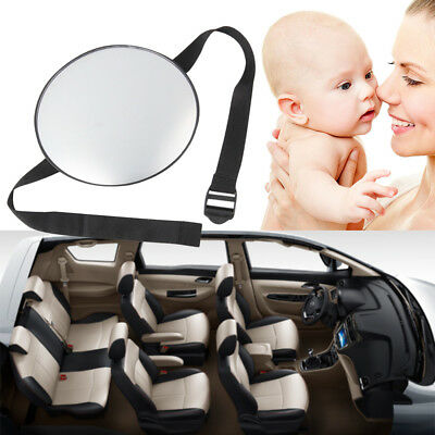 QA_ EG_ Baby Mirror Back Car Seat Cover for Infant Child Rear Ward Safety View