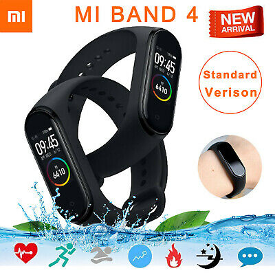 Xiaomi Mi Band 3/4 Global Smart Wristband Bracelet Waterproof Heart Rate Monitor