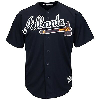 Atlanta Braves Majestic Athletic Cool Base Alternate Baseball Jersey