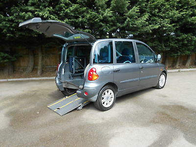 2004 Fiat Multipla 1.6 16v 100 ELX Wheelchair Accessible Vehicle