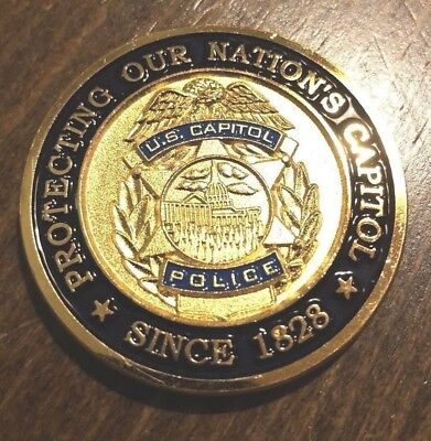 US CAPITOL POLICE FLETC Challenge Coin NYPD FBI DSS DEA HSI INS USCS ATF USSS