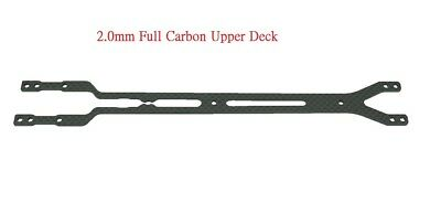 RC-COX 2.0mm Full Carbon Upper Deck For X-Ray T4-18 CXR-009-20