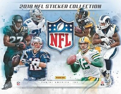 One Pack - 2018-19 Topps Football Nfl - Sticker Pack - 5 Stickers Per Pack