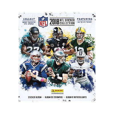 Sticker Album - 2018-19 Topps Football Nfl + 10 Free Stickers Included Inside