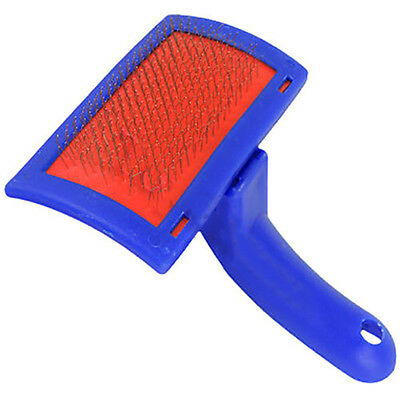 QA_ EG_ GN- Pet Dog Cat Stainless Steel Shedding Grooming Hair Brush Comb Trim