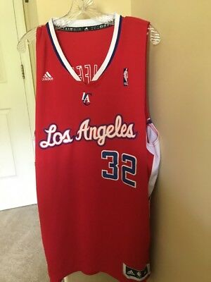 Blake Griffin Los Angeles Clippers Jersey Size Xl  32 Sewn On Red Nba  Basketball 96e4ac3e6