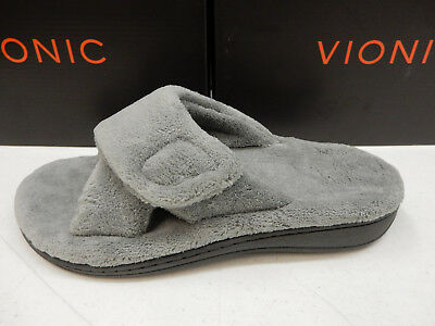 02ff76af37e8 VIONIC WOMENS SLIPPERS Relax Light Grey Size 7 -  59.95