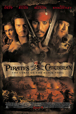 Pirates of the Caribbean: The Curse of the Black Pearl| $1.39 DVD $2.88 Blu-ray