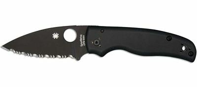 Spyderco C229GSBK Shaman Black G10 Knife - Authorized Dealer!