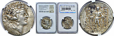 2nd - 1st Centuries BC Thrace Isle Of Thasos Tetradrachm Greek NGC  Ch VF